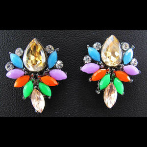 EARRINGS - Beautiful Rhinestone Crystal Jewelry